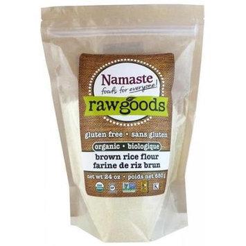 Namaste Foods Organic Brown Rice Flour 6 pack
