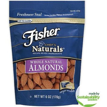 Fisher Chef's Naturals Whole Natural Almonds