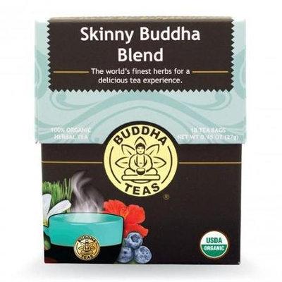 Buddha Teas Skinny Buddha Blend 100 Percent Organic Herbal Tea 18 Bags Per Packet
