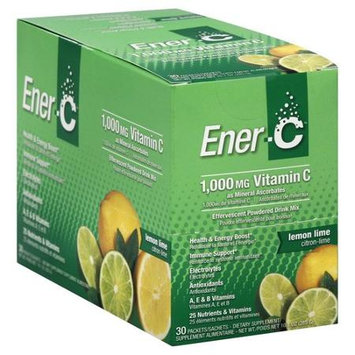 Ener-C Vitamin C Lemon Lime 30 Packets