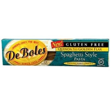 DeBoles Quinoa plus Golden Flax Spaghetti Style Pasta Gluten Free - 8 oz - Vegan