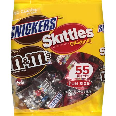 Mix Variety Pack M&M's Snickers And Skittles