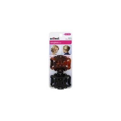 Scunci Octopus Jaw Clip Assorted Colors 2 Count