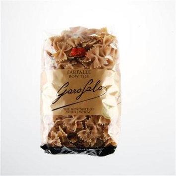 Garofalo Pasta SW78 Whole Wheat Farfalle Pasta Case Of 20 - 1 lb. Boxes
