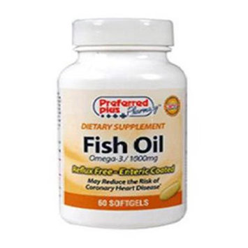 Preferred Plus Fish Oil 1000mg Softgel E C kpp Size: 60