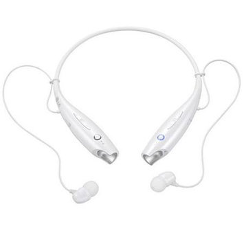 LG Electronics Tone+ HBS-730 Bluetooth Headset - Retail Packaging - White
