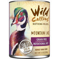 Best Friend Products Corp Wild Calling Mountain Lake Duck Can Dog Food