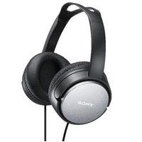 Sony - 40mm Driver Unit Hi-Fi / Music & Movie Headphones (Black) - Black