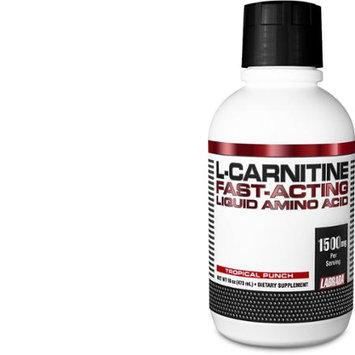 Labrada Nutrition Liquid L-Carnitine Powder, Tropical Punch, 16 Ounce