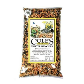 Cole's Wild Bird Products Critter Munchies 10 Lbs.