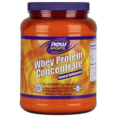 NOW Foods - Whey Protein Concentrate Natural Unflavored - 1.5 lbs.