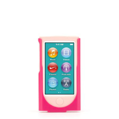 Griffin Technology - 2-in-1 Case For Apple Ipod Nano 7th Generation - Pink
