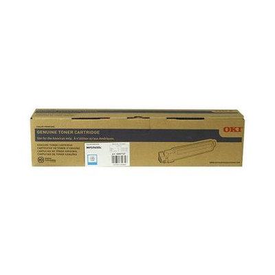 Okidata Corporation OKIDATA OKI43837127 OKIDATA BR MPS9650C - 1-SD YLD CYAN TONER