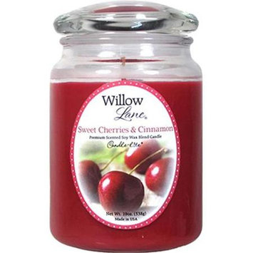Candlelite 19 Ounces Cherry/Cinn Candle 1646991 by Candle Lite