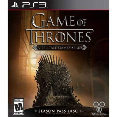 Telltale Games Game Of Thrones: A Telltale Game Series - Playstation 3