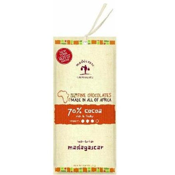 Madecasse 70% Cocoa Chocolate Bar Rich & Fruity 2.64 oz