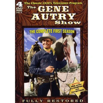 Tmg Gene Autry Show: The Complete First Season [4 Discs] (dvd)