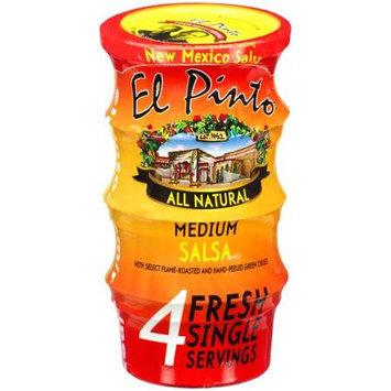 KeHe Distributors 47513 EL PINTO SALSA CUPS MED 4PK - Pack of 6 - 12 OZ