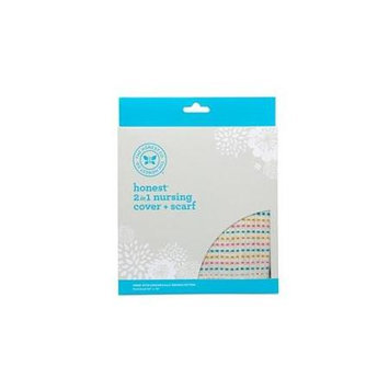 The Honest Company Nursing Scarf (Multi-Stripe)
