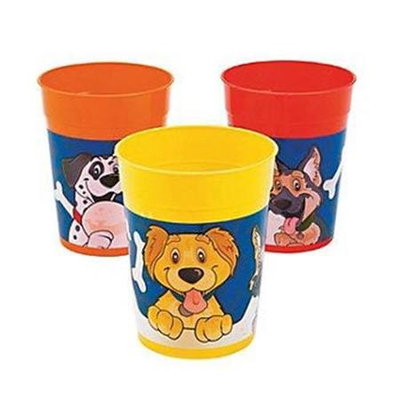 Fun Express 13648883 Puppy Party Tumblers