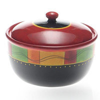 Certified International Caliente by Joy Hall Bean Pot