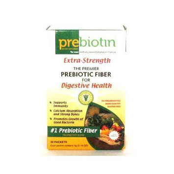 Prebiotin Prebiotic Fiber For Digestive Health, 30 Packets