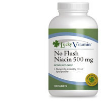 LuckyVitamin - No Flush Niacin 500 mg. - 100 Tablets