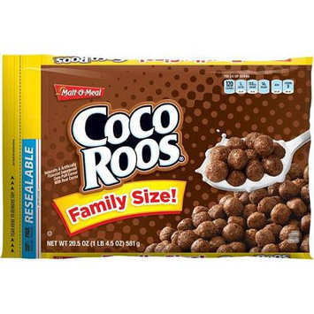 Malt-o-meal Malt O Meal: Cereal Coco Roos Family Size, 24.7 Oz