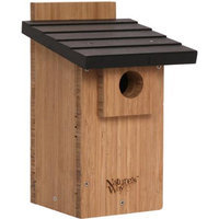 Natures Way BWH4 Bamboo Bluebird Viewing House