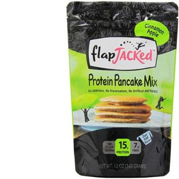 FlapJacked Protein Pancake Mix Cinnamon Apple 12 oz