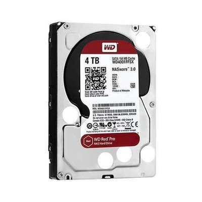 Western Digital WD Red Pro 6TB SATA 6GB/s 128MB Cache Internal 8,9cm 3,5Zoll 24x7 7200rpm optimized fur SOHO NAS sys