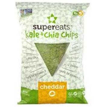 Supereats Kale & Chia Chips Cheddar 5 oz