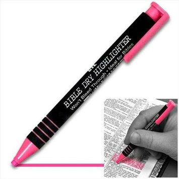 G T Luscombe 99009X Highlighter Bible Dry Pink