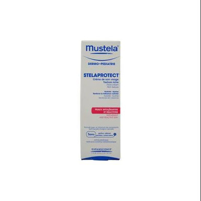 Mustela 1.3 oz Stelaprotect Texture Rich Face Cream