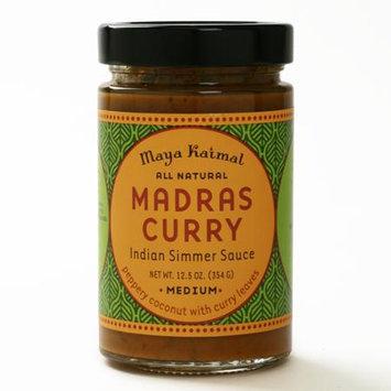 Maya Kaimal Indian Simmer Sauce Madras Curry 12.5 oz - Vegan