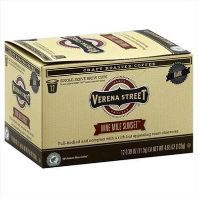 Verena Street 12 Pack - Coffee Nine Mile Sunset Single Cup Capsule Case Of 6