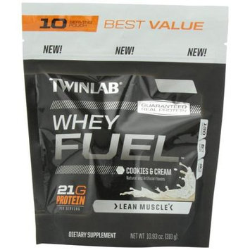 Twinlab Whey Fuel Cookies & Cream - 10.93 oz
