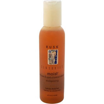Sensories Moist Sunflower & Apricot Extract Shampoo by Rusk for Unisex - 4 oz Shampoo