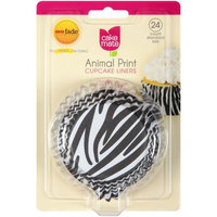 Signature Brands Cake Mate Animal Print Cupcake Liners, Standard Size, 24 count