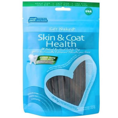 Natural Polymer International Corp Get Naked Skin & Coat Health Dental Chew Sticks Small 6.2oz