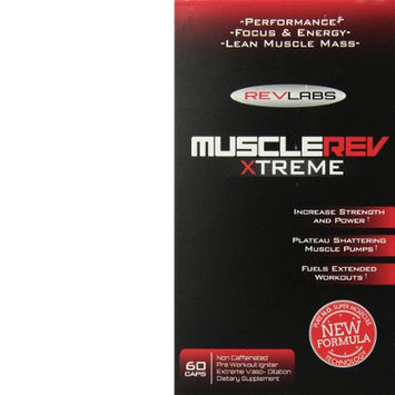 RevLabs - MuscleRev Xtreme - 60 Capsules