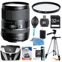 Tamron 16-300mm f/3.5-6.3 Di II VC PZD MACRO Lens Pro Kit for Canon EF-S DSLR