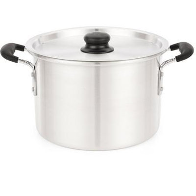 Imusa Aluminum Soft Touch Handle Stock Pot (8 Quart)