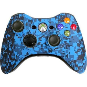 Evil Controllers Custom Xbox 360 Controller Blue Urban Special Edition