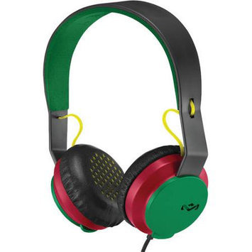 The House of Marley Roar Headphones (Includes In-Line 1 Button Mic) - Rasta