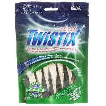 Npic Twistix Vanilla Mint Dental Dog Chews Large