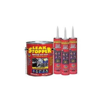 LEAK STOPPER 10.1-fl oz Fibered Waterproof Cement Roof Sealant 0319-GA