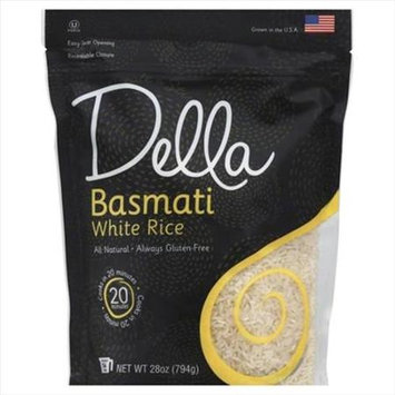 Della WHITE RICE, BASMATI, (Pack of 6)