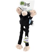 Go Dog Mini Crazy Monkey Dog Toy in Black