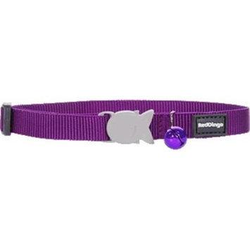 Red Dingo CC-ZZ-PU-SM Cat Collar Classic Purple